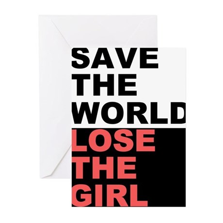 Save The World... Greeting Cards (Pk of 10)