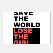 Save The World... Postcards (Package of 8)