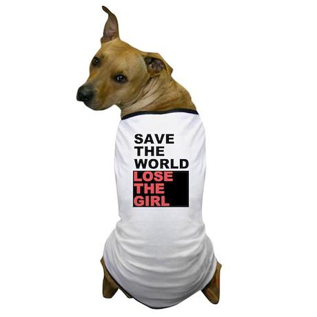 Save The World... Dog T-Shirt