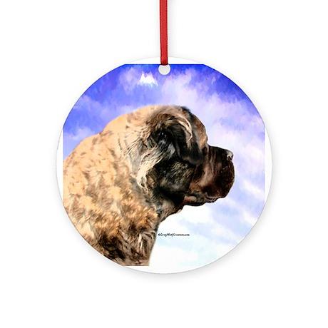 Fluffy 5 Ornament (Round)
