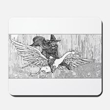 Mother Goose flying Mousepad