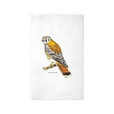 American Kestrel Bird 3'x5' Area Rug