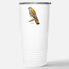 American Kestrel Bird Stainless Steel Travel Mug