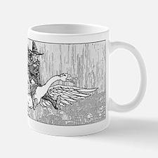 Mother Goose flying Mug