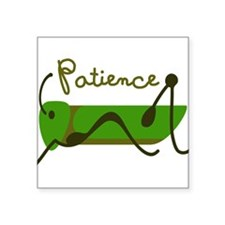 Patience Sticker