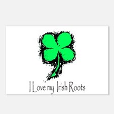 IRISH ROOTS Postcards (Package of 8)