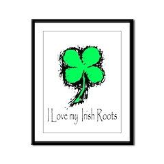 IRISH ROOTS Framed Panel Print
