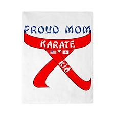 Proud Mom Karate Kid Twin Duvet