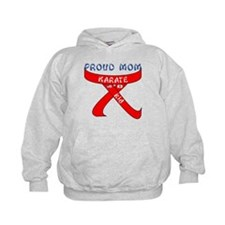 Proud Mom Karate Kid Hoodie