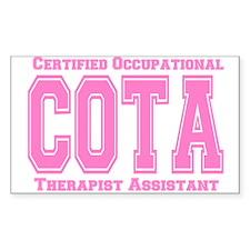 COTA Rectangle Decal