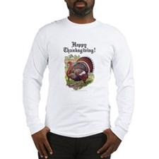 Antique Thanksgiving Turkey Long Sleeve T-Shirt