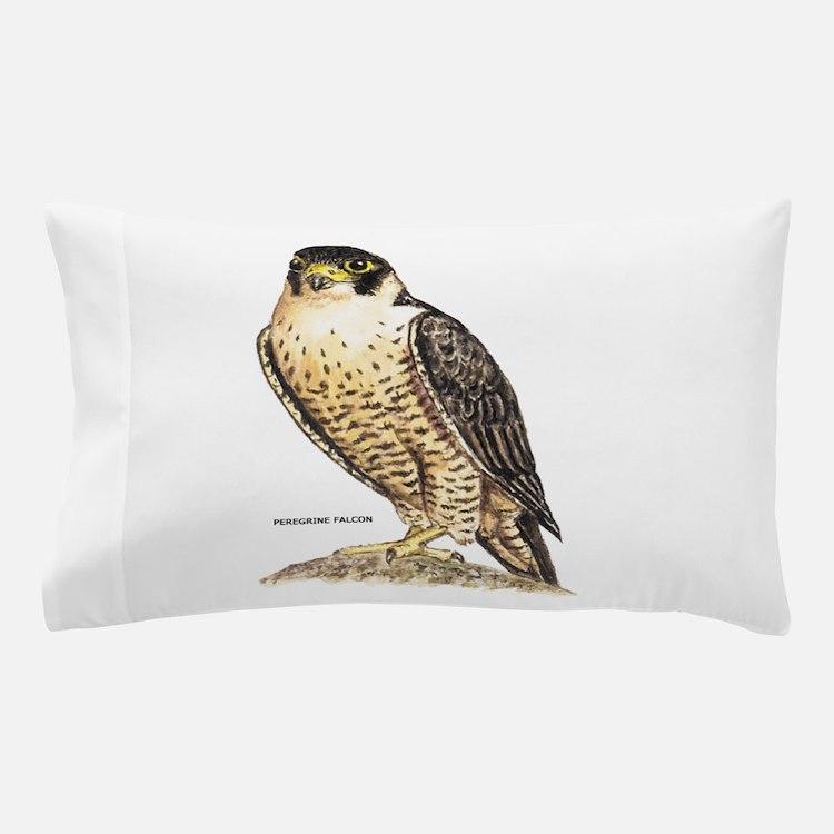 Peregrine Falcon Bird Pillow Case