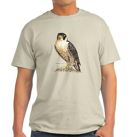Peregrine Falcon Bird Light T-Shirt