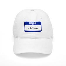 Hello I'm a Noob Baseball Baseball Cap