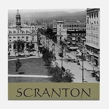 SCRANTON Tile Coaster