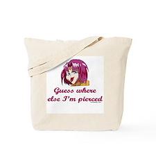 Piercings Tote Bag