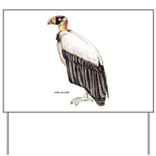 King Vulture Bird Yard Sign