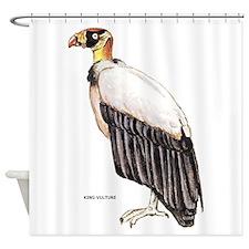 King Vulture Bird Shower Curtain