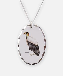 King Vulture Bird Necklace