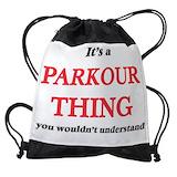 Parkour Drawstring Bag