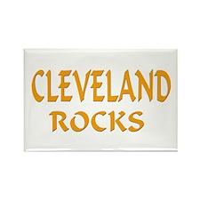 Cleveland Rocks Rectangle Magnet (100 pack)