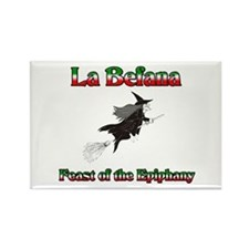 La Befana Rectangle Magnet