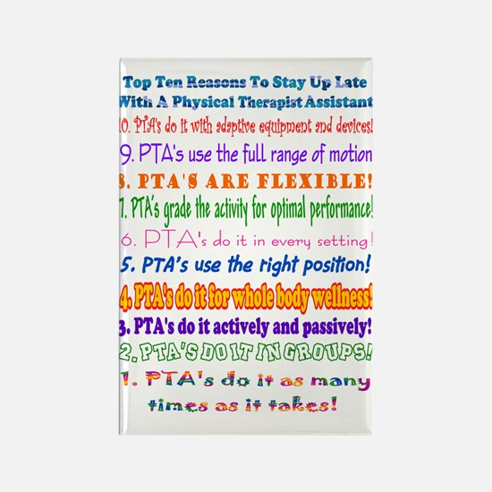 PTA Rectangle Magnet (10 pack)