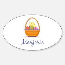 Easter Basket Marjorie Decal