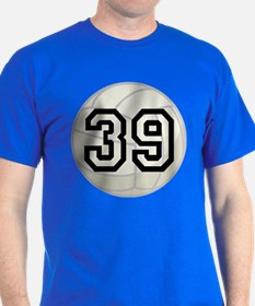 Volleyball Player Number 39 T-Shirt