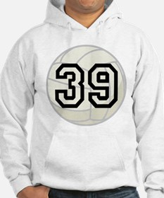 Volleyball Player Number 39 Hoodie