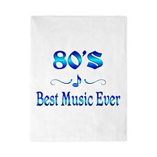 80s Best Music Twin Duvet