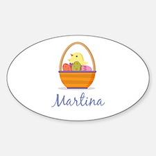 Easter Basket Martina Decal