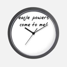 Easgle powers Wall Clock