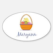 Easter Basket Maryann Decal