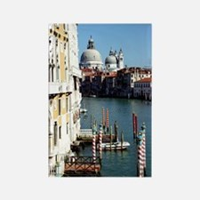 Grand Canal in Venice from Ac Rectangle Magnet