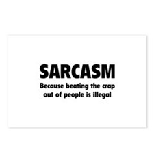 SARCASM Postcards (Package of 8)