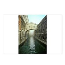 Bridge of Sighs in Venice Postcards (Package of 8)