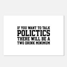If you want to talk politics.. Postcards (Package
