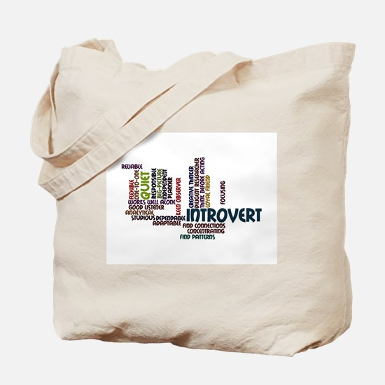 Introvert Strengths Word Cloud 2 Tote Bag