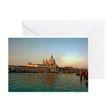 Grand Canal in Venice Greeting Cards (Pk of 10