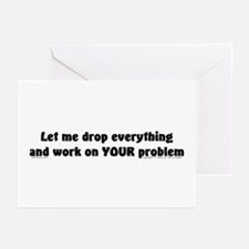 Let Me Drop... Greeting Cards (Pk of 10)