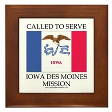 Iowa Des Moines Mission - Iowa Flag - Called to Se