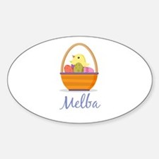 Easter Basket Melba Decal