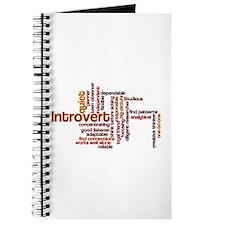 Introvert Strengths Word Cloud 1 Journal