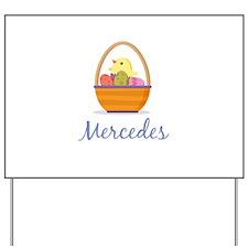 Easter Basket Mercedes Yard Sign