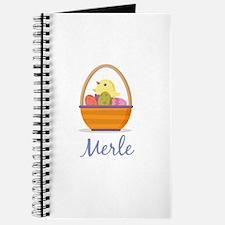 Easter Basket Merle Journal