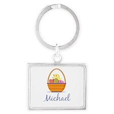 Easter Basket Michael Keychains
