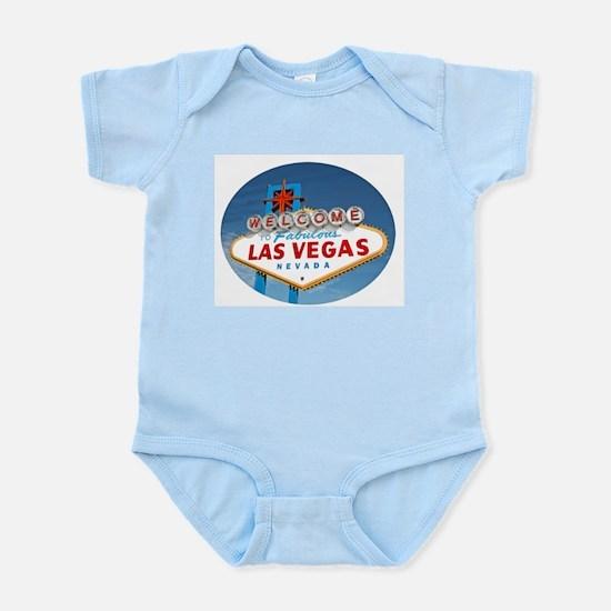 Las Vegas Sign - Pink Infant Bodysuit