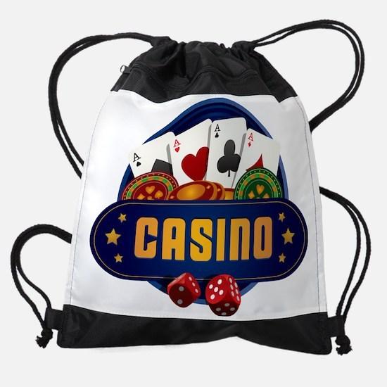 Casino Drawstring Bag