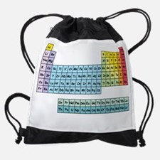 Chemists do it on the table Drawstring Bag